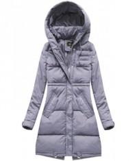 9bc673d867fd Dámska zimná bunda MODA752BIG fialová - Dámske oblečenie
