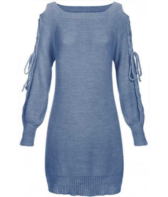 Dámsky sveter 113ART modrý