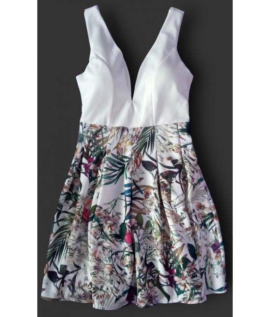 Dámske letné šaty 900 biele
