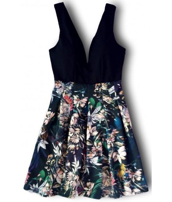 Dámske letné šaty 900 čierne