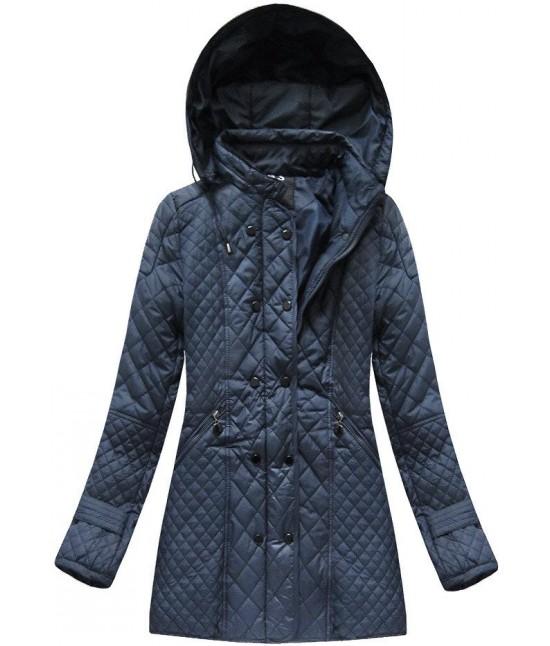 Dámska jesenná bunda  MODA921 modrá 1