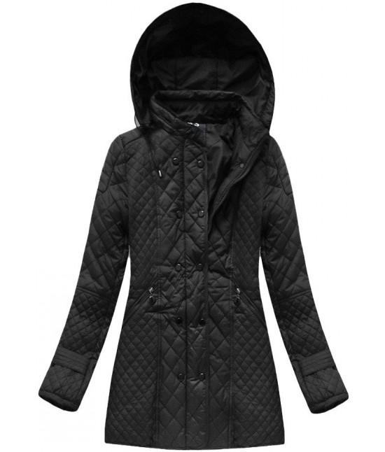 Dámska jesenná bunda  MODA921 čierna