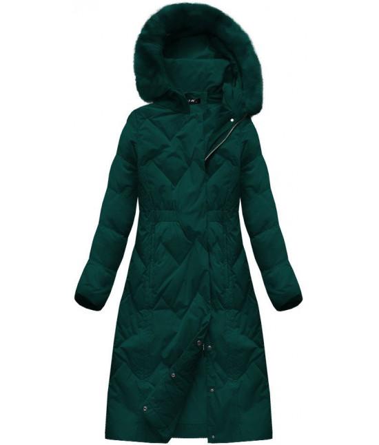 Dámska zimná bunda MODA119 zelená - Dámske oblečenie  eb60268d6ee
