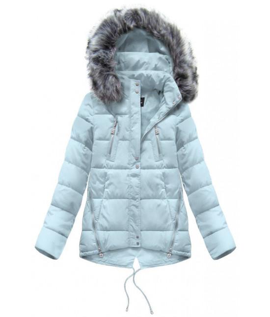 Dámska zimná bunda moda917 modrá