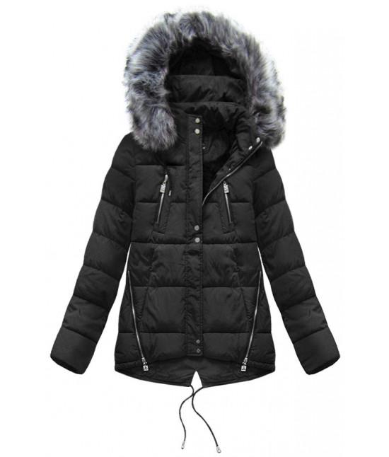 Dámska zimná bunda moda917 čierna