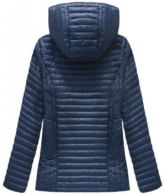 926fe5cdf30c Dámska jarná bunda MODA501 tmavomodrá - Dámske oblečenie