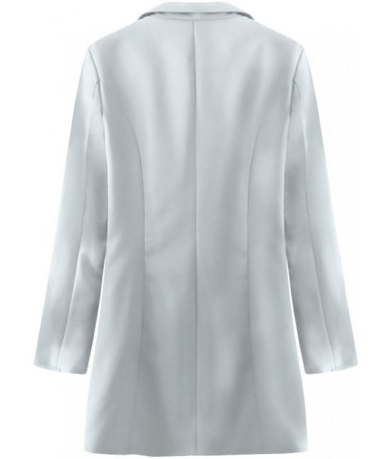 Dámske sako s gombíkmi MODA215 šedé - Dámske oblečenie  9e7b75cbbda