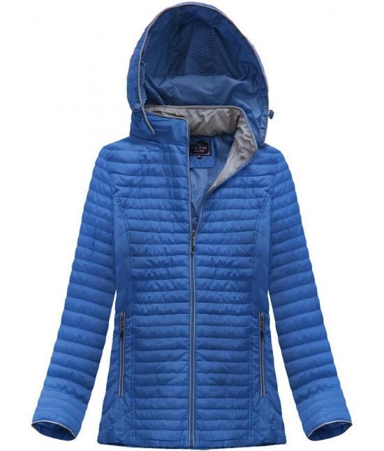 Dámska prechodná bunda MODA039BIG modrá