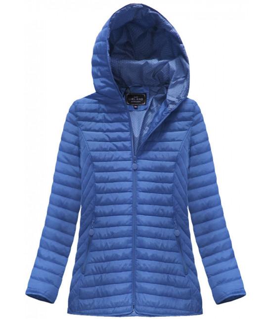 Dámska prechodná jarná bunda MODA040BIG modrá