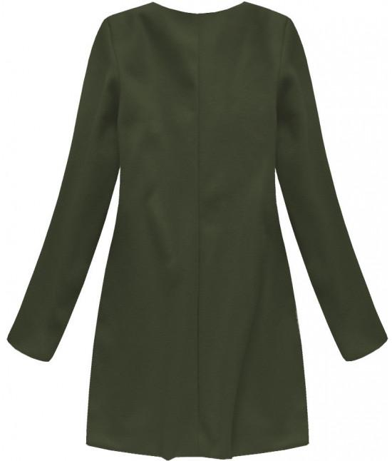 Dámsky kabát MODA172/1 khaki
