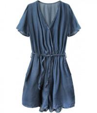 damsky-jeansovy-overal-moda240-modrý