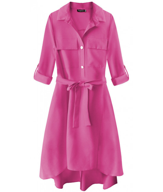 762aad2a2729 Dámske šaty s vreckami MODA267 cyklamenové - Dámske oblečenie ...