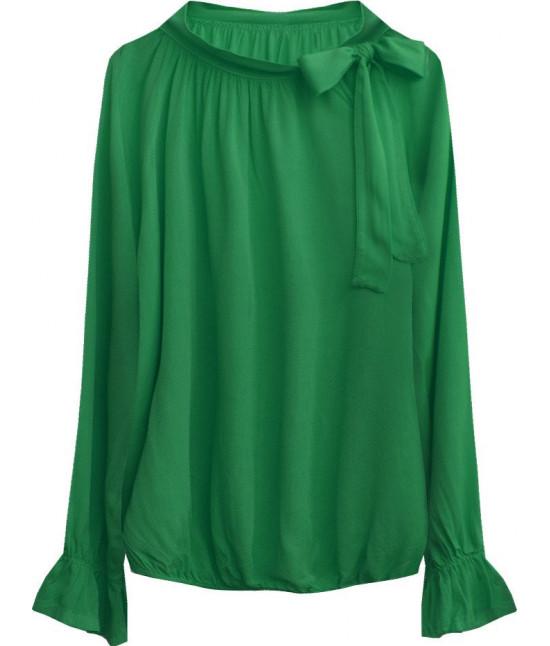 Dámska bavlnená blúzka MODA298 zelená