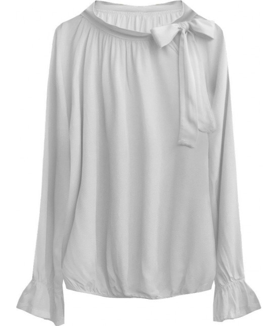 Dámska bavlnená blúzka MODA298 šedá
