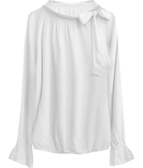 Dámska bavlnená blúzka MODA298 biela