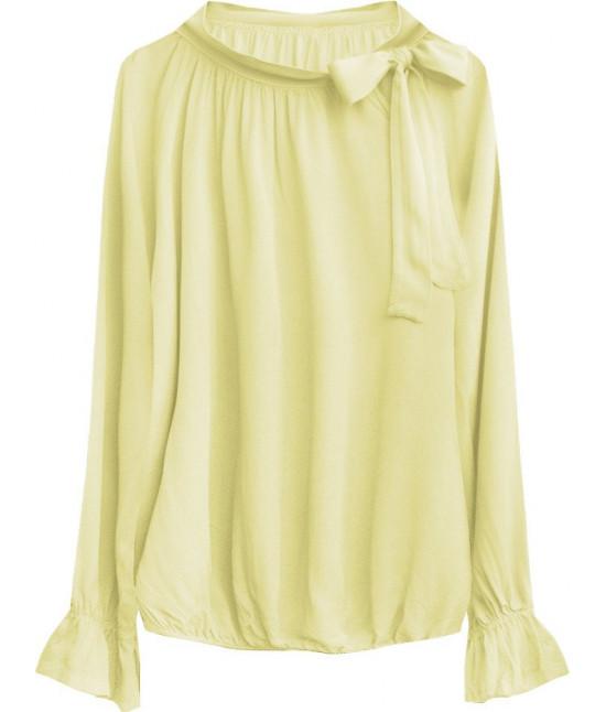 Dámska bavlnená blúzka MODA298 žltá