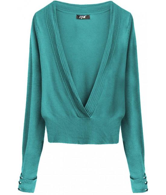 Dámsky sveter MODA117 zelený