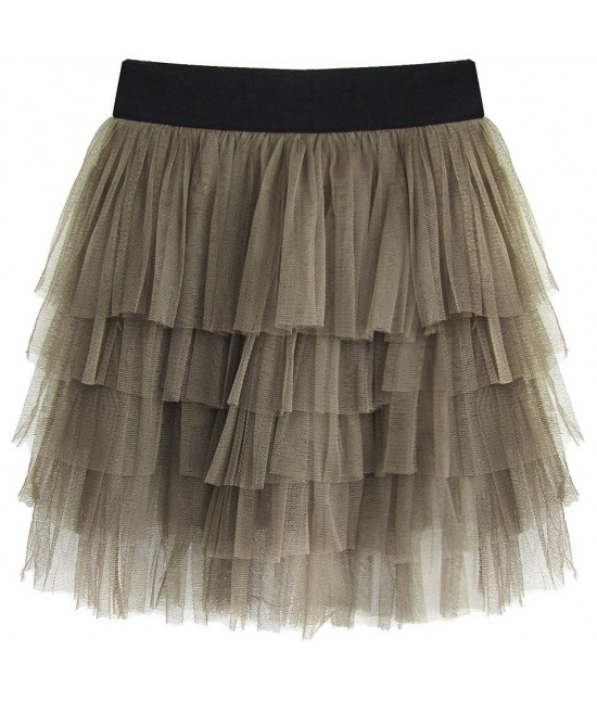Dámska sukňa MODA231 olivová