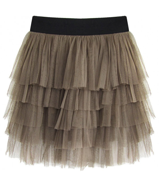 Dámska sukňa MODA231 kakaová