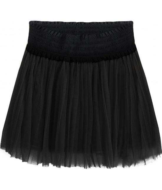 Dámska plisovaná sukňa MODA311 čierna
