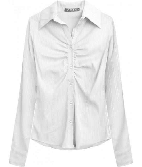 Elegantná dámska košeľa MODA084 biela