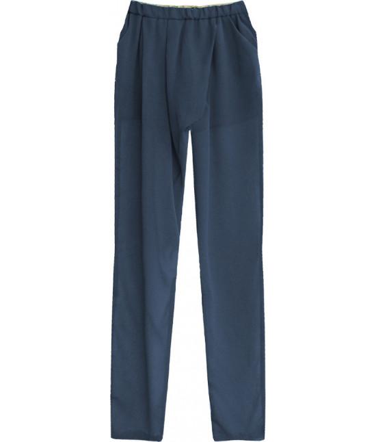 92389f5d81f7 Dámske letné nohavice MODA151 tmavomodré - Dámske oblečenie