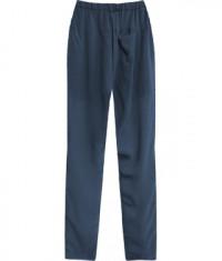 damske-letne-nohavice-moda151-tmavomodre