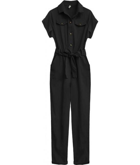 Dámsky bavlnený overal MODA361 čierny