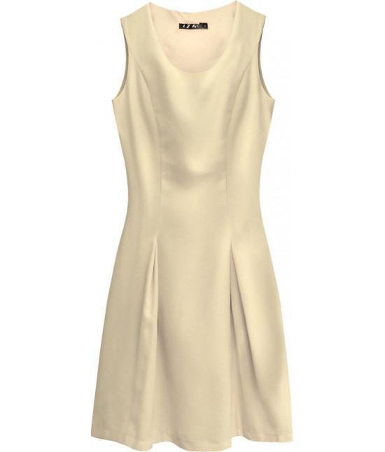Dámske šaty MODA111 béžové