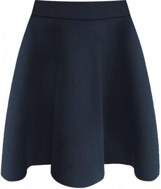 Dámska sukňa MODA151 tmavomodrá