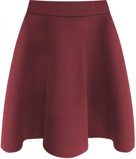 Dámska sukňa MODA151 bordová