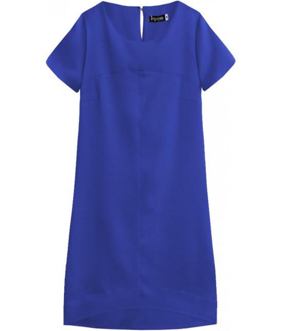 Dámske letné šaty MODA446 modré