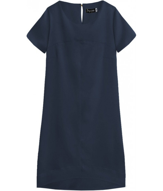 Dámske letné šaty MODA435 tmavomodré