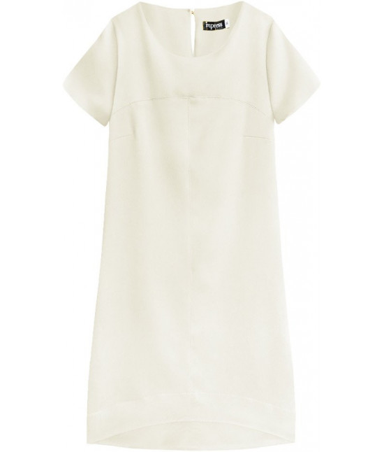 Dámske letné šaty MODA435 béžové