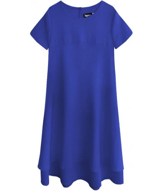 Dámske letné šaty MODA436 modré