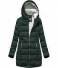 Prešívaná dámska zimná bunda MODA642 zelená