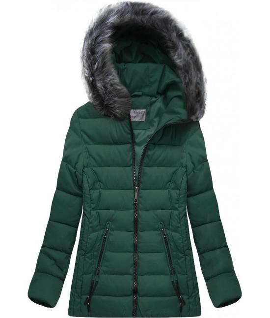 Dámska zimná bunda MODA503 zelená