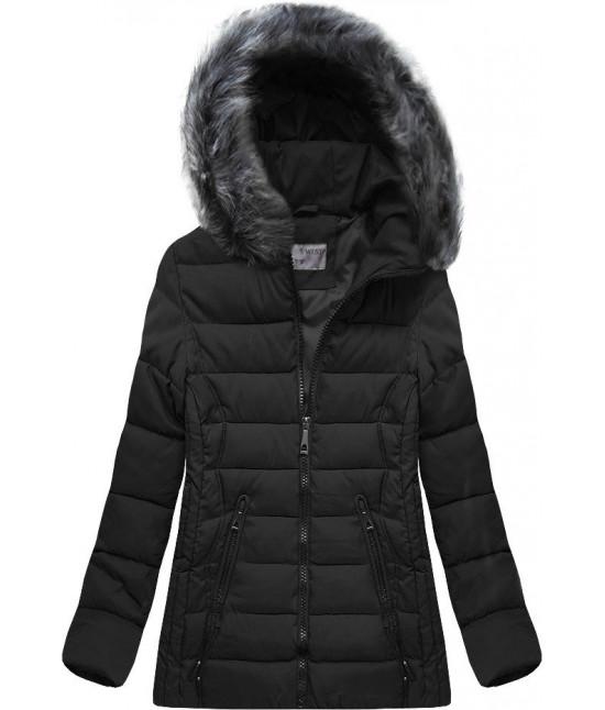 Dámska zimná bunda MODA503 čierna