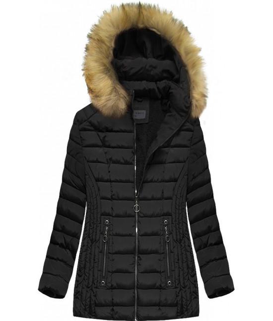 Dámska zimná bunda MODA2630 čierna