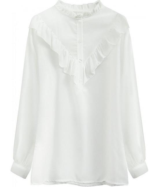 Dámska košeľa MODA477 ecru