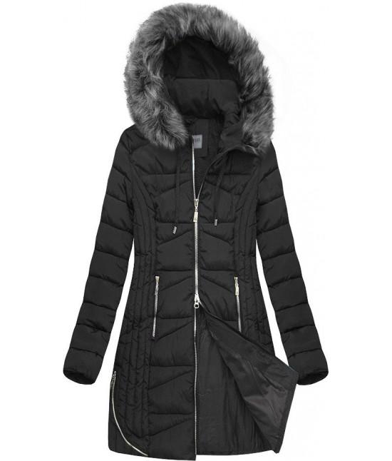 Dámska zimná bunda MODA632 čierna