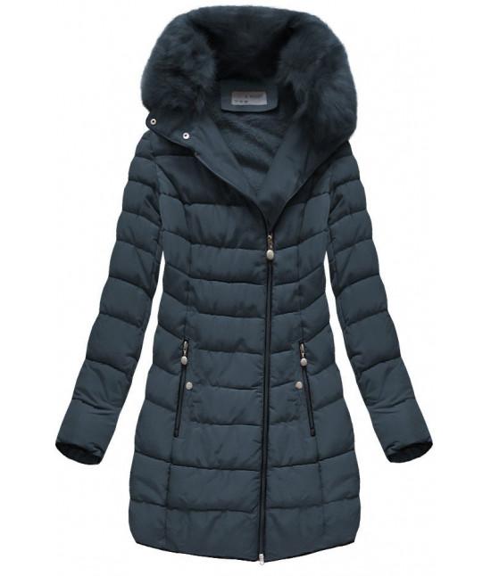 presivana-damska-zimna-bunda-moda059-tmavomodra