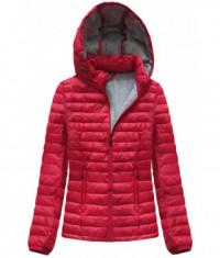 damska-kratka-prechodna-bunda-moda076-cervena