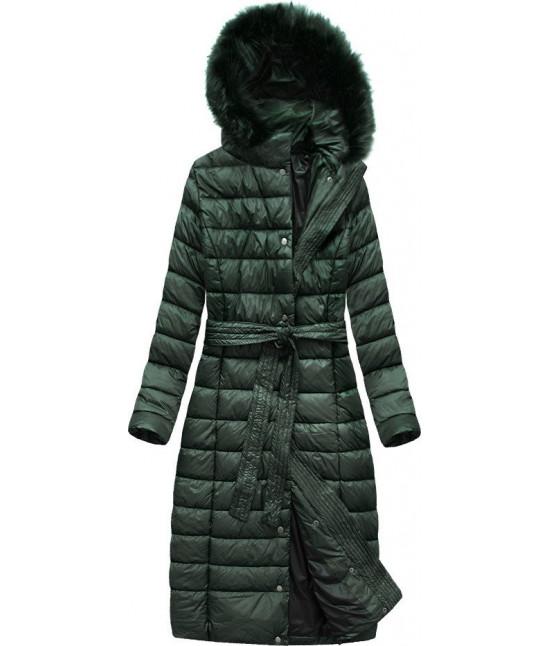 dlha-damska-presivana-zimna-bunda-moda761-tmavozelena