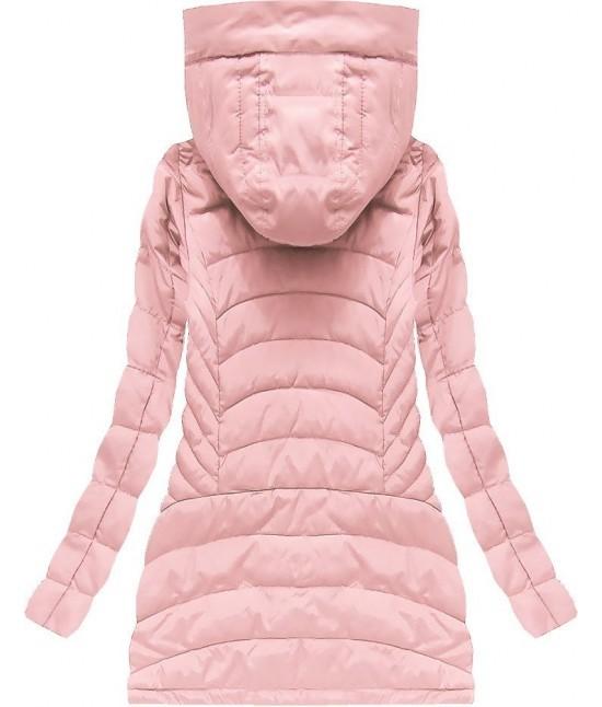 Dámska prechodná bunda W620 ružová - Dámske oblečenie  9185d54779