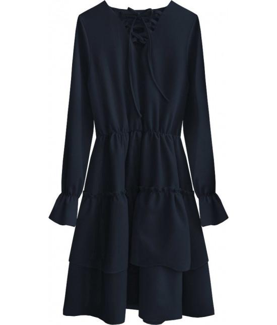 Dámske šaty MODA511 modré