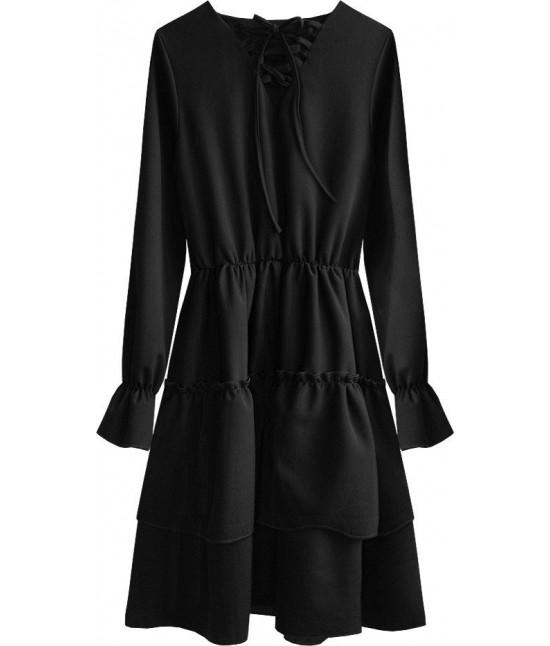 Dámske šaty MODA511 čierne
