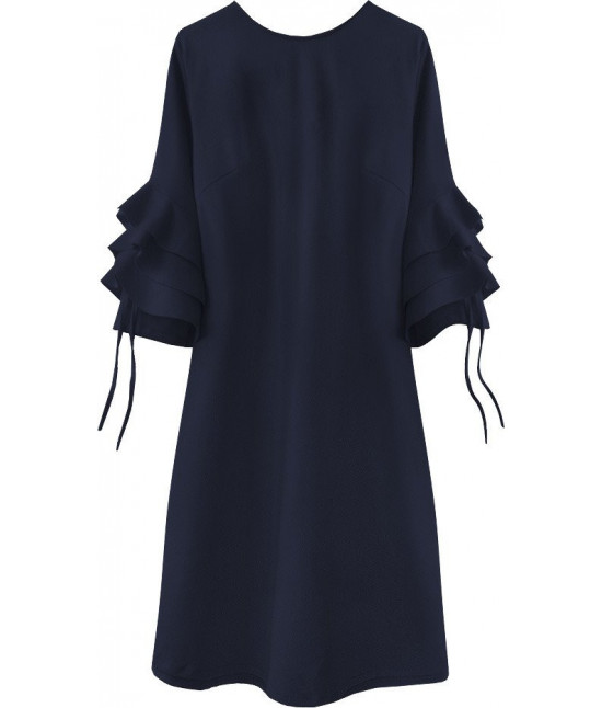 Dámske elegantné šaty MODA533 tmavomodré
