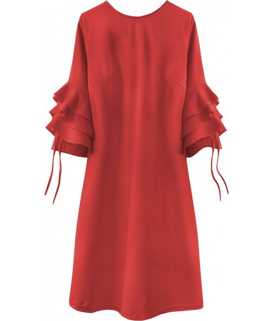 Dámske elegantné šaty MODA533 červené