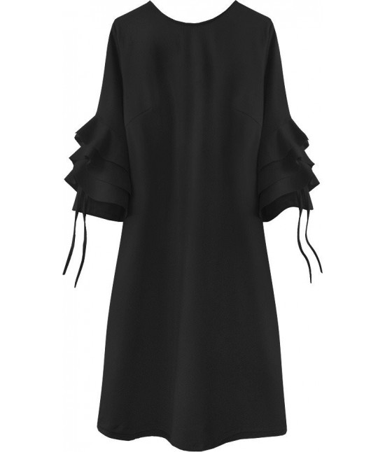 Dámske elegantné šaty MODA533 čierne